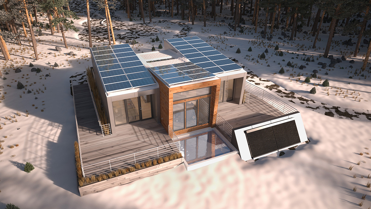 Affordable Modular Houses Come With Electricity And Water